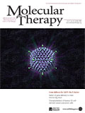 Molecular Therapy cover, volume 17, number 10, October 2009, click for vector image enlargement (PDF)